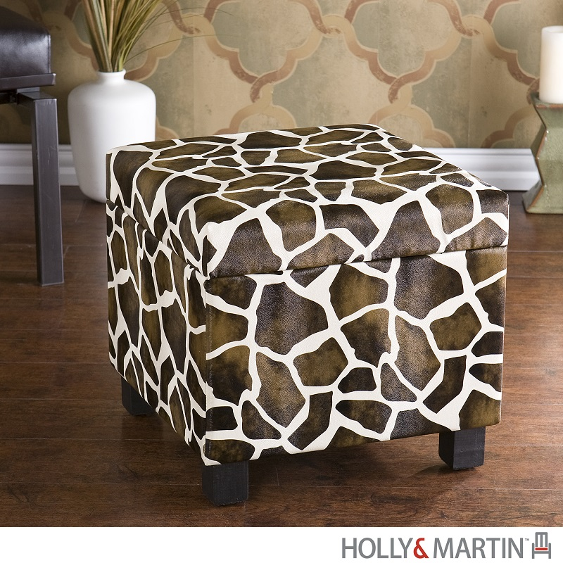 Giraffe Ottoman with Storage