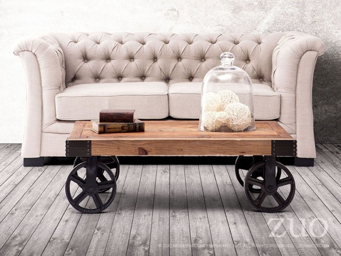 Tufted Chesterfield Loveseat