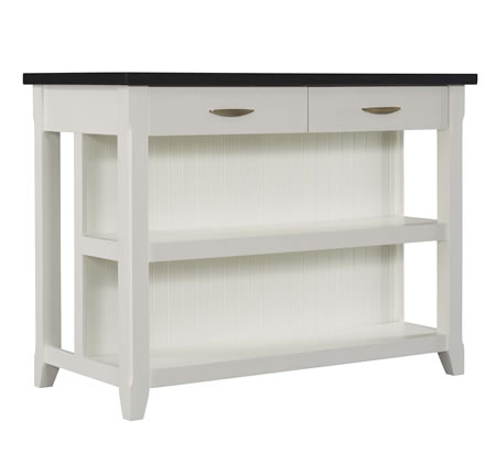 TRESANTI THE SERVER WHITE KITCHEN ISLAND