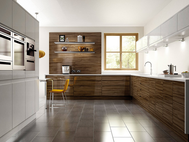 Digital Rendering of Kitchen Design
